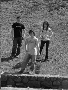 teenagers on hill