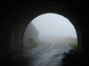 Foggy Tunnel