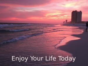 A Beautiful Sunset On Panama City Beach
