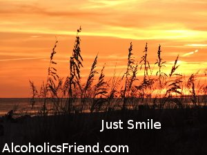Seaoats In Sunset